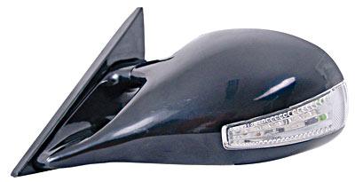 Racing Speil N-Look med blinklys og varme